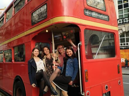 Routemaster party bus London