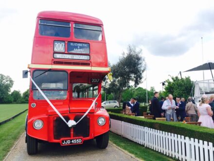 Classic Routemaster wedding bus