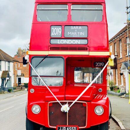 Classic Lengthened Routemaster wedding Bus