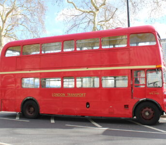 Classic Lengthened Routemaster bus