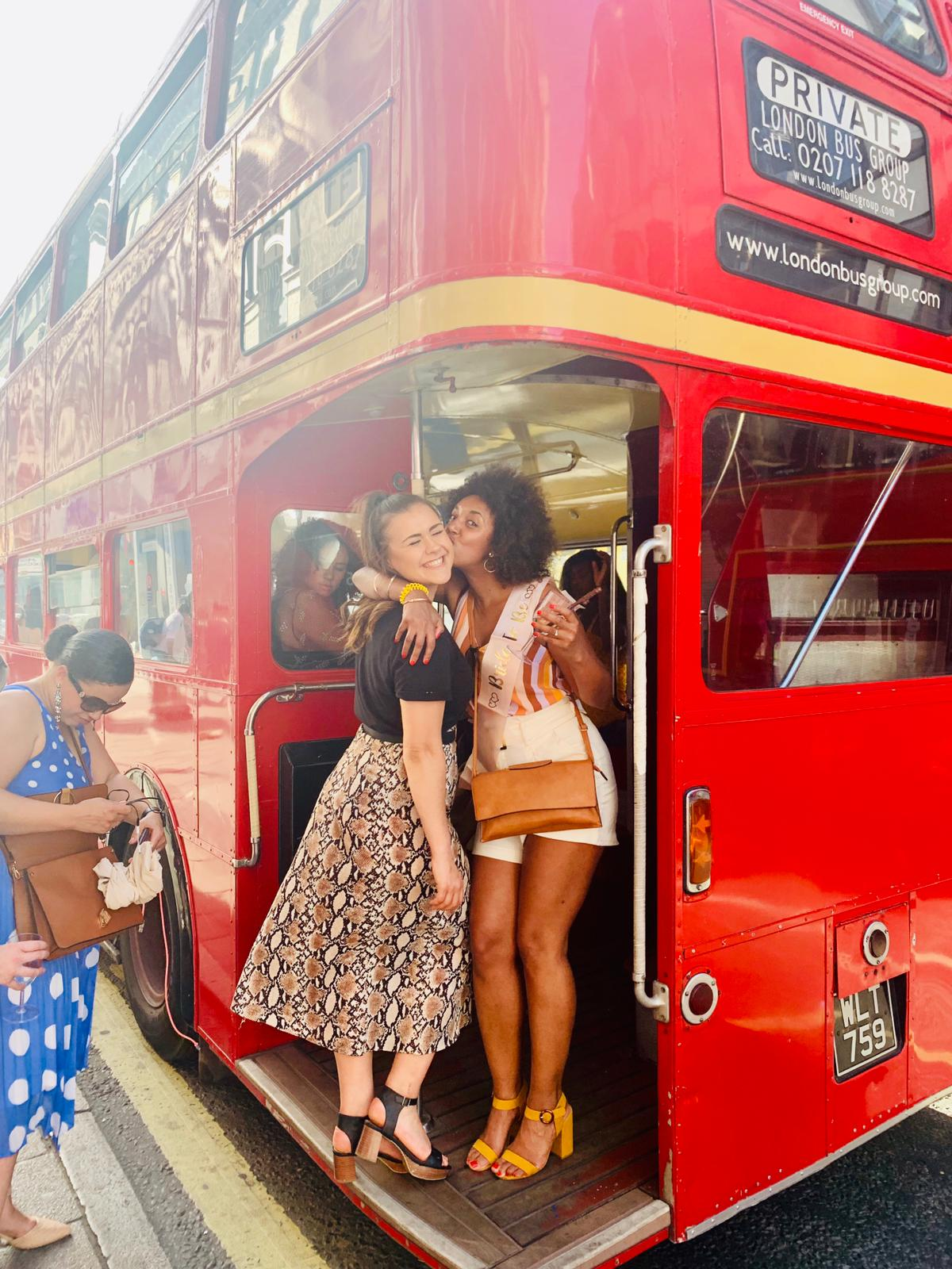 Hen party Routemaster party bus