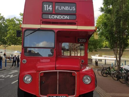 Funbus Routemaster private hire