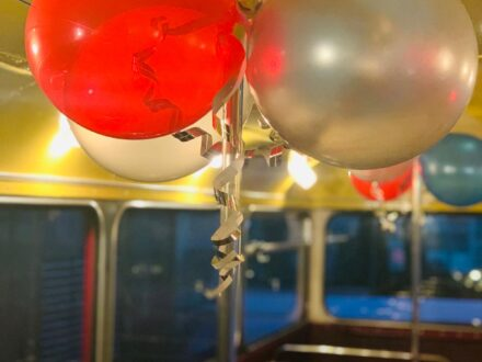 Routemaster Party Bus decoration