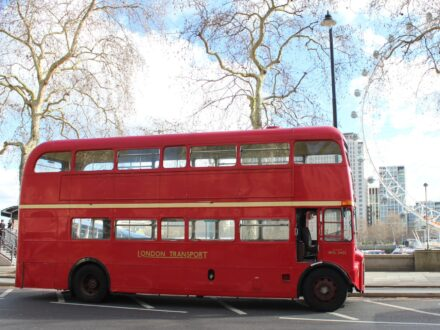 Lengthened Routemaster bus