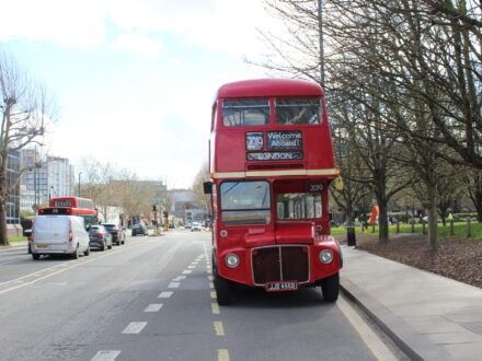 Front Lengthened Classic Routemaster
