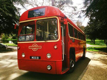Regal Single Decker bus outside
