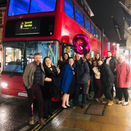 Double Decker Party Bus
