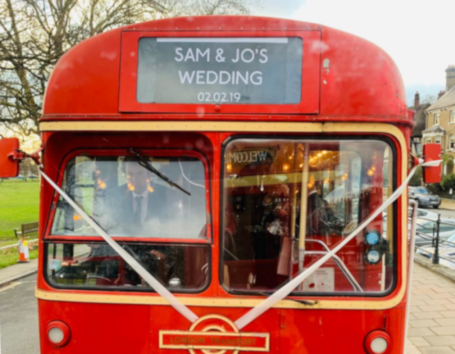 Regal Single Decker wedding bus