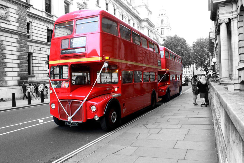London Wedding Buses