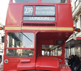 Personalised Destination Blind - Routemaster bus London